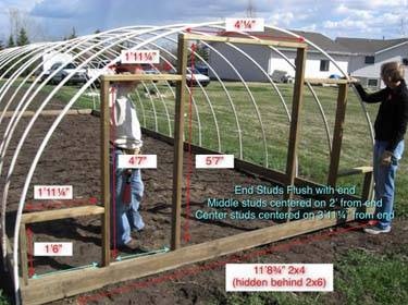 are some of the best PVC Hoop House plans that I have come across